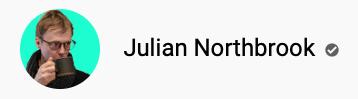 101 canais do YouTube para aprender inglês de graça Julian Northbrook