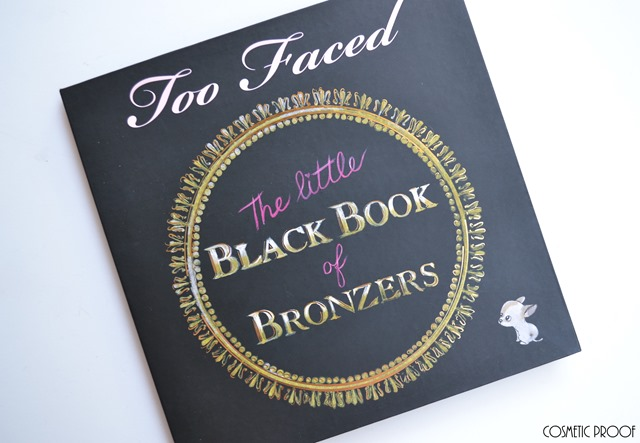 Too Faced The Little Black Book of Bronzers Review Swatches (10)