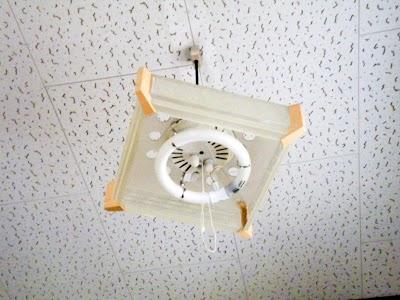 キッチンの和風ペンダントライト