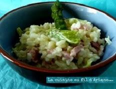 recette du risotto aux asperges vertes