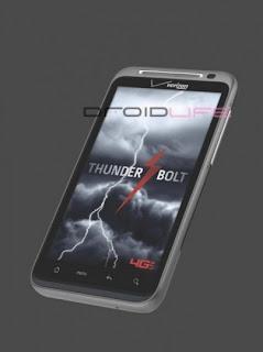 HTC Thunderbolt,HTC,Thunderbolt,HTC Thunderbolt 4G