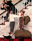 """Homecoming"" Norman Rockwell - 1961"