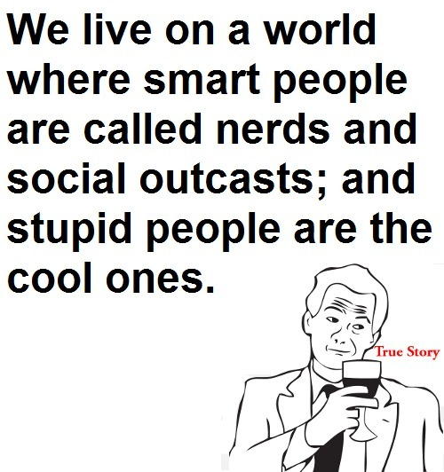 Smart VS Stupid People