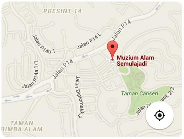 Jalan-jalan ke Muzium Alam Semulajadi, Putrajaya.