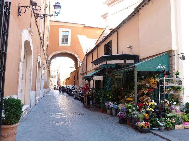 Marchand de fleurs, Roma