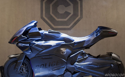 motorsikal robocop