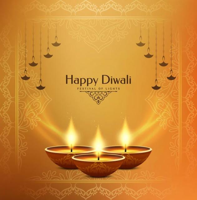 Happy Diwali Wishes Unique Image