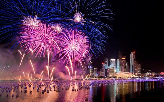 besplatne Novogodišnje pozadine za desktop 1680x1050 free download blagdani čestitke Happy New Year vatromet