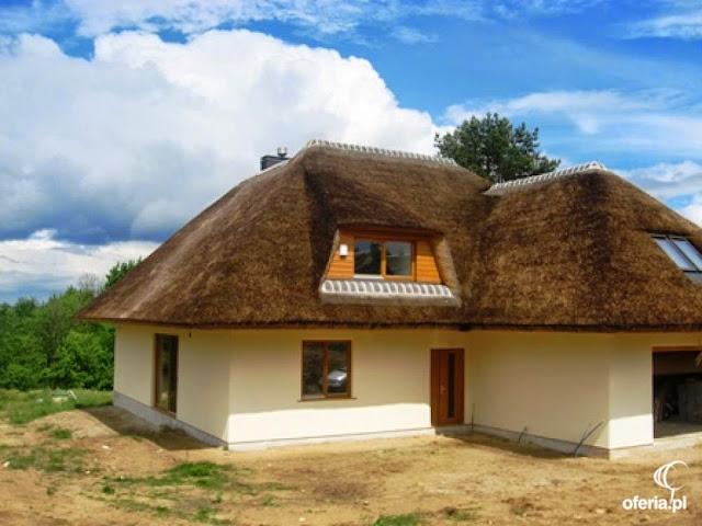 dach z trzciny strzecha