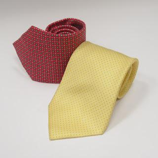 Hermès Geometric Tie Pair