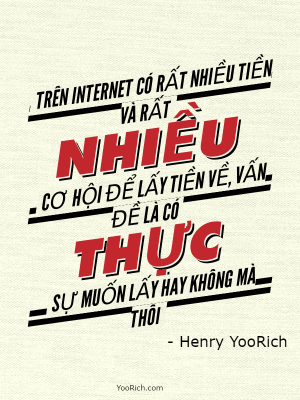 Châm ngôn YooRich