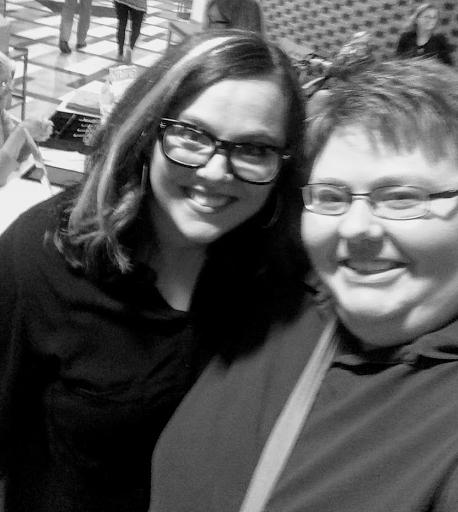 Jennifer with Sarah Bessey on October 15, 2017