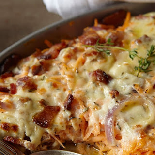 Baked Chicken and Bacon Casserole