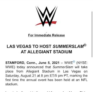 WWE Las Vegas SummerSlam