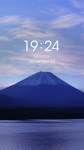 ZUI Locker Theme - Mount Fuji