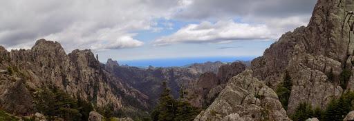 Panorama depuis Bocca di Fumicosa