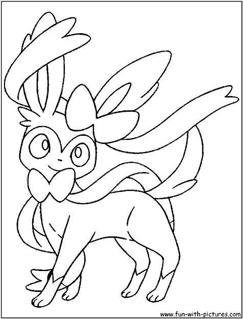 Pokemon Eevee Coloring Pages On Cartoons With Pokemon Coloring Pages  Eevee Evolutions