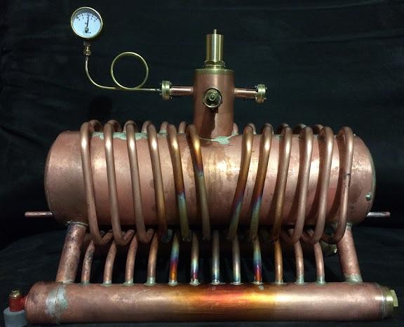 Personal variant of Yarrow boiler