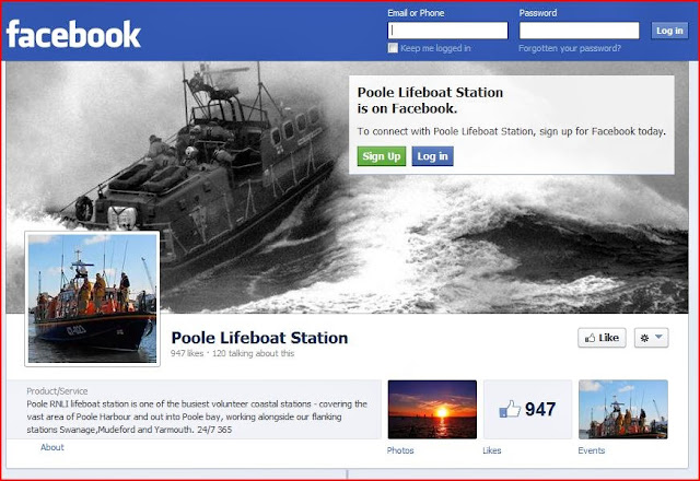 And then Like us on Facebook ...