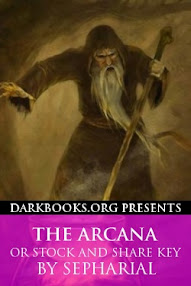 Cover of Sepharial's Book The Arcana or Stock and Share Key
