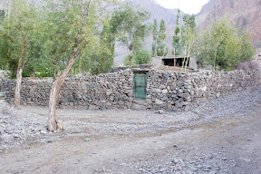 Stones were everywhere, Golaghmuli, Ghizer