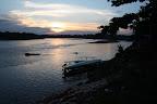 Sunset at Boca Manu (Manu National Park, Peru)