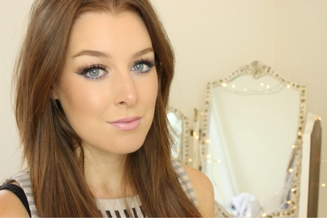 Bronze Summer Makeup and Ardell False Lashes