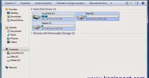 cara paling mudah untuk memperbaiki hard disk rusak atau