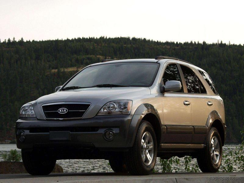 2005 kia sorento suv specifications pictures prices. Black Bedroom Furniture Sets. Home Design Ideas