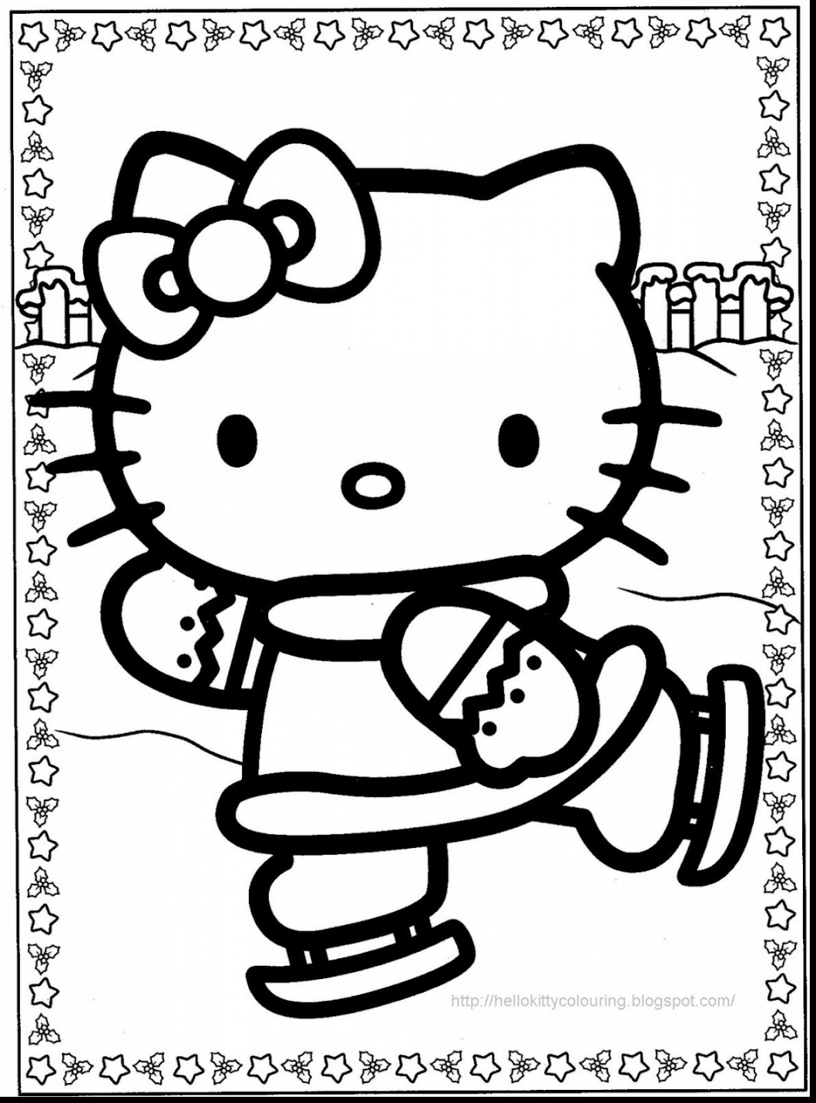 Best Hello Kitty Fairy Coloring Pages Photos