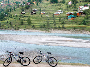 Cycling through Neelum Valley