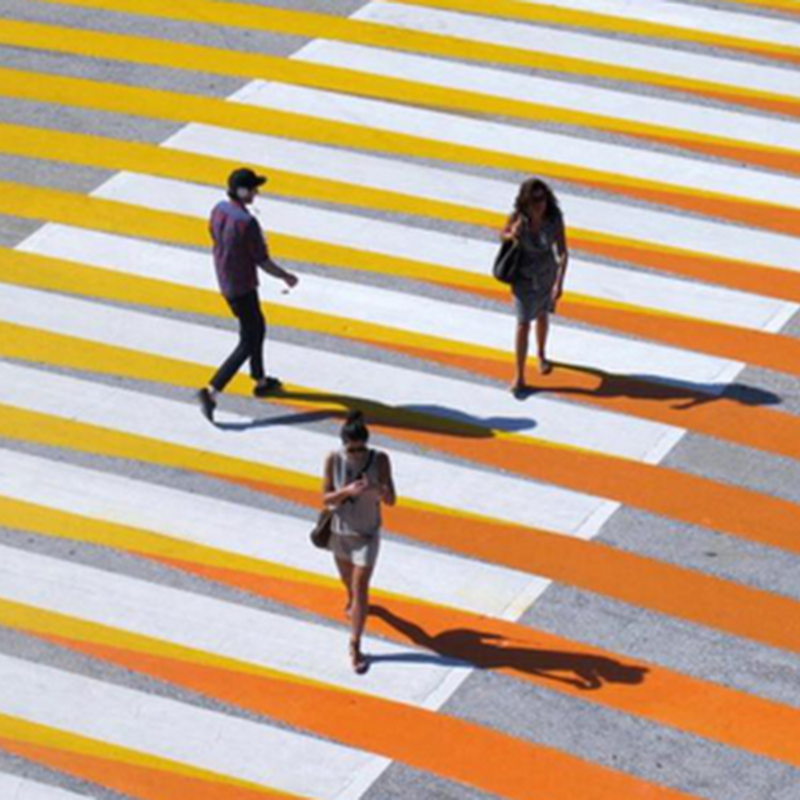 14 CROSSWALK ILLUSIONS AND INTERVENTIONS