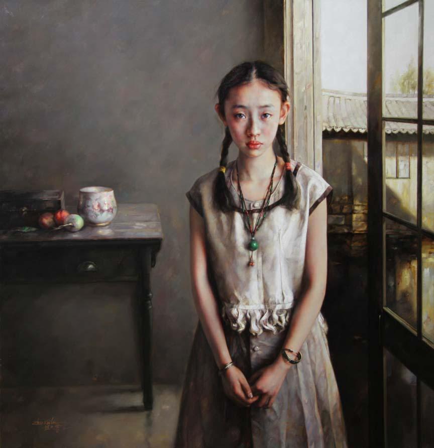 Zhao Kailin, 1961 | Figurative painter | Tutt'Art ...