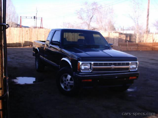 1992 chevrolet s 10 extended cab specifications pictures prices. Black Bedroom Furniture Sets. Home Design Ideas