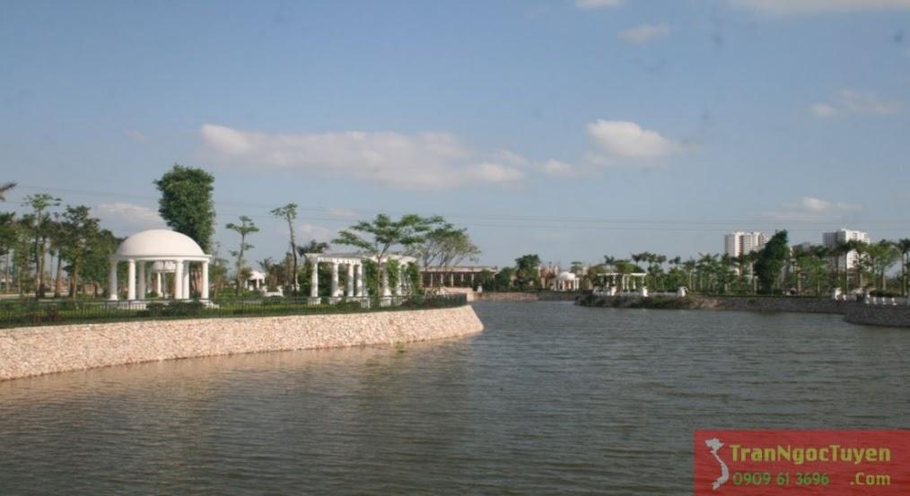 biệt thự Vườn Cam Vinapol - Hồ điều hòa