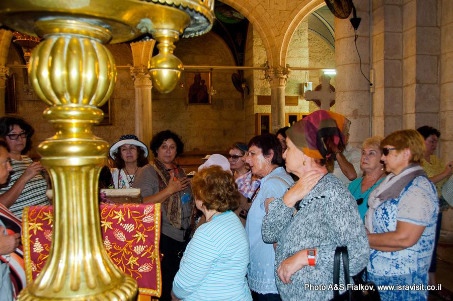 Экскурсовод в Израиле Светлана Фиалкова.