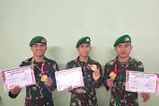 Tiga Karateka Kodam XIV Hasanuddin Raih Medali Tingkat Nasional dan Internasional