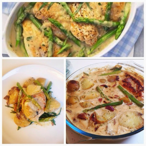 Easy Peasy Student Cooking: Creamy Chicken with Asparagus ...