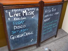 Disco! Georgia Crawl!
