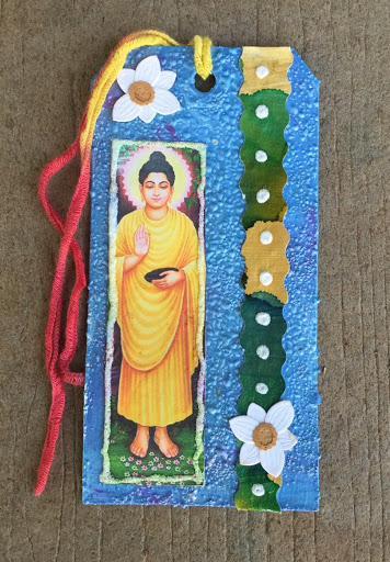 Buddha altered tag