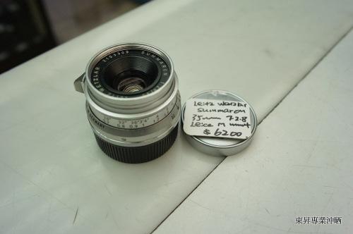 LeitzWetzlarSummaron35mmF2.8LeicaMMount