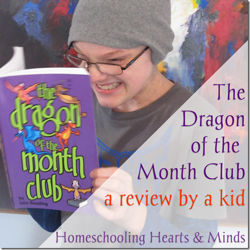 The Dragon of the Month Club, a review by a kid
