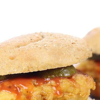 Gluten-Free Spicy Fried Chicken Sandwich