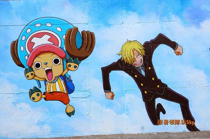 高雄景點推薦-仁武社區爆紅卡通彩繪壁畫【冰雪奇緣】