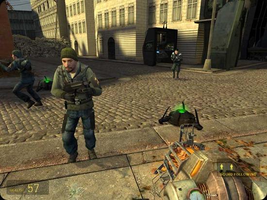 Half-Life2 Seguite Freeman.