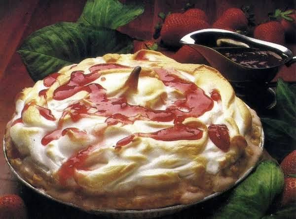 Strawberry Baked Alaska Recipe