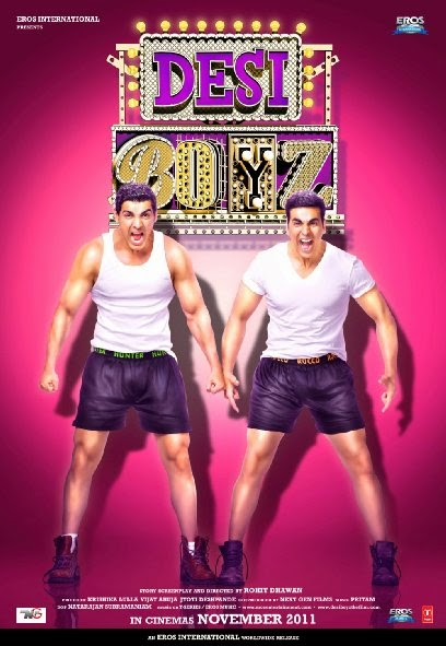 Poster Of Hindi Movie Desi Boyz (2011) Free Download Full New Hindi Movie Watch Online At alldownloads4u.com