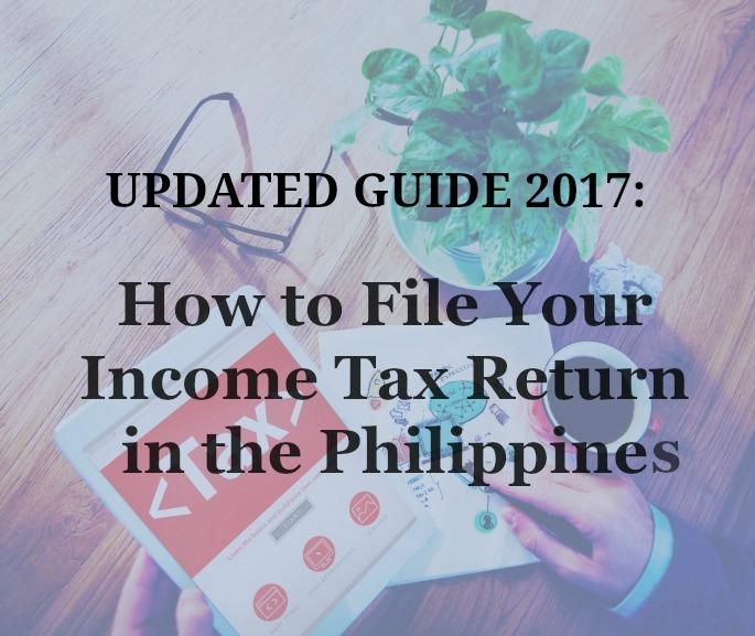 manual filing of income tax return
