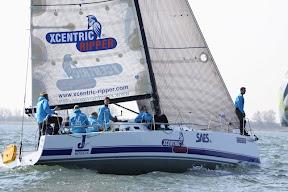 J/111 XCentric Ripper sailing van uden reco regatta