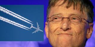 Mais uma dele! Bill Gates também está financiando experimentos com CHEMTRAILS! Partículas de ENXOFRE serão pulverizadas no Novo México